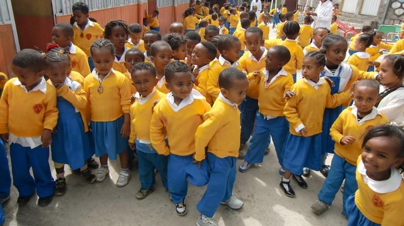 2012 Adonay Mesfen in der Albtal-Schule