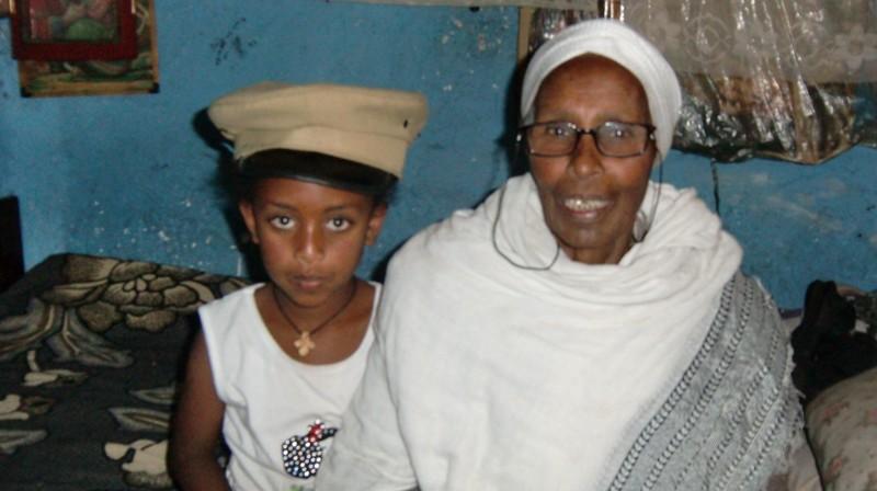 2012 Amenu Familie Enkel Meramawit Grossmutter Lakesh