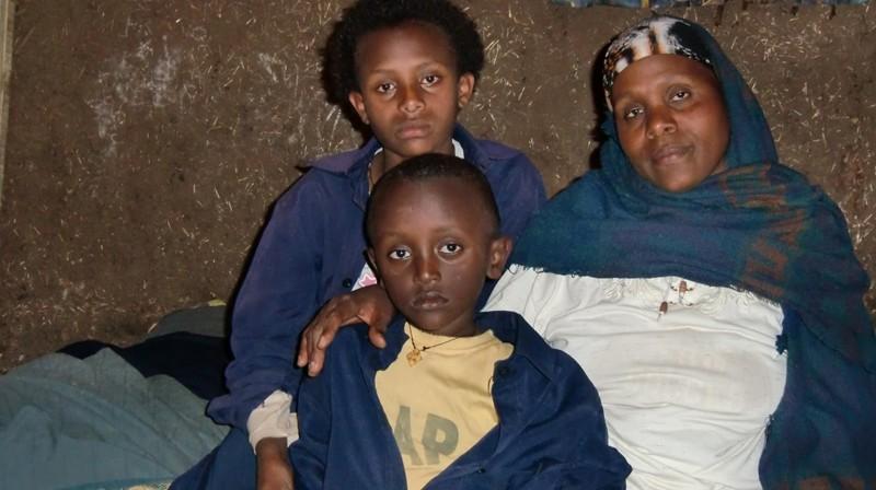 2012 Destaw Familie Mutter Mamu Tochter Fasika Sohn Eyob