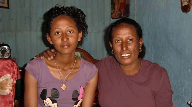 2012 Erku Familie Mutter Serkalem Tochter Habil