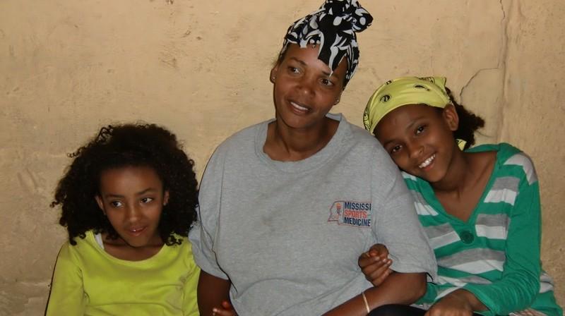 2012 Fekadu Familie Maklit Mutter Melessu Tochter Lilena