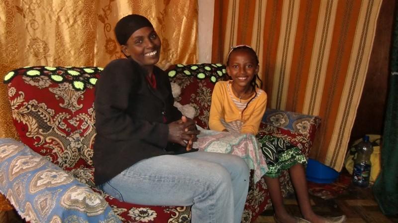 2012 Worku Familie Mutter Abebech Tochter Hermela