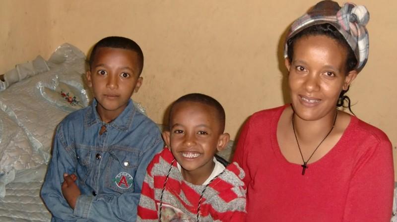 2012 Yohannes Familie Mutter Meseret Eyob Kidus