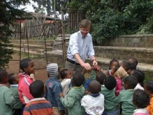 An der Fasil-Schule in Addis 2 - 2009
