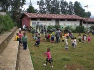 An der Fasil-Schule in Addis 1 - 2009