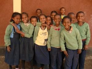 Die dritte Klasse an der Fasilschule.