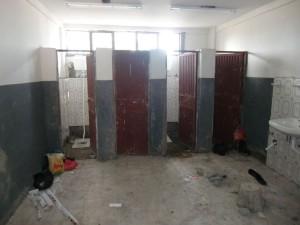 Endlich Toiletten für die Fasil-Schule