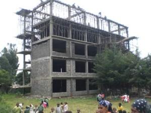 Erweiterungsbau der Fasil-Schule. Es fehlt Geld für die Laborausstattung - 2009