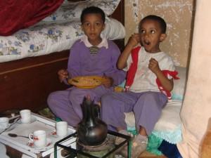 Eyob und Kidus sind wohlauf