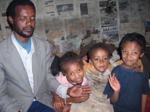 Familie Ademe. Almaz fehlt auf diesem Photo