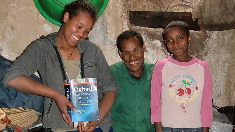 2014 Familie Lemma 42 - Tochter Tiringo, Vater Abera, Sohn Esubalow