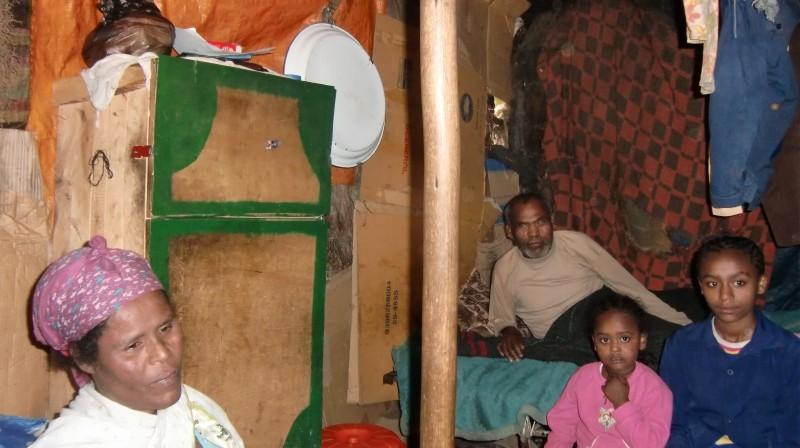 2013 Familie Mossu 41 - Mutter Emebet und Vater Belete
