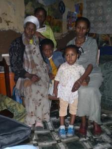 Familie Yalemwork und Wondwossen - 2009