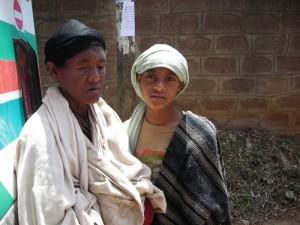 Frau Abebe mit Tochter Birhane (10)