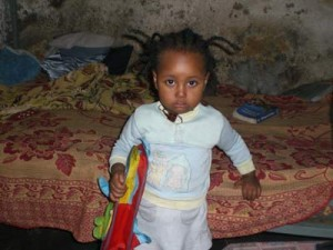 Kalkidan (3) Tochter von Belaynesh - 2009