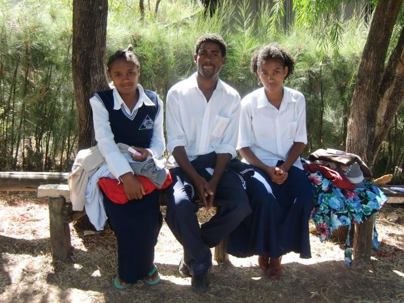 Kidist, Gezachew und Tirunesh