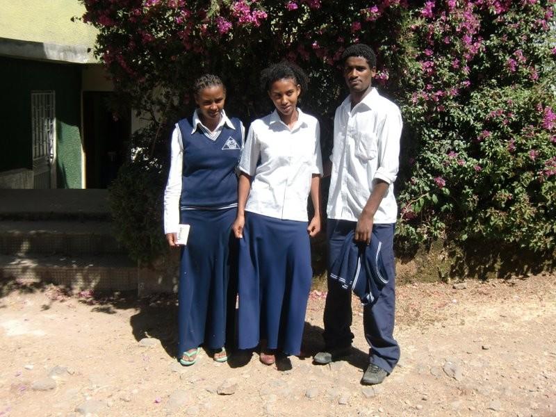 Kidist, Tirunesh and Gezachew.