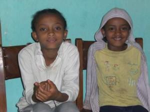 Lilena und Maklit Fekadu - 2009
