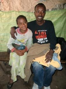 Mesfin mit Birhane Abebe