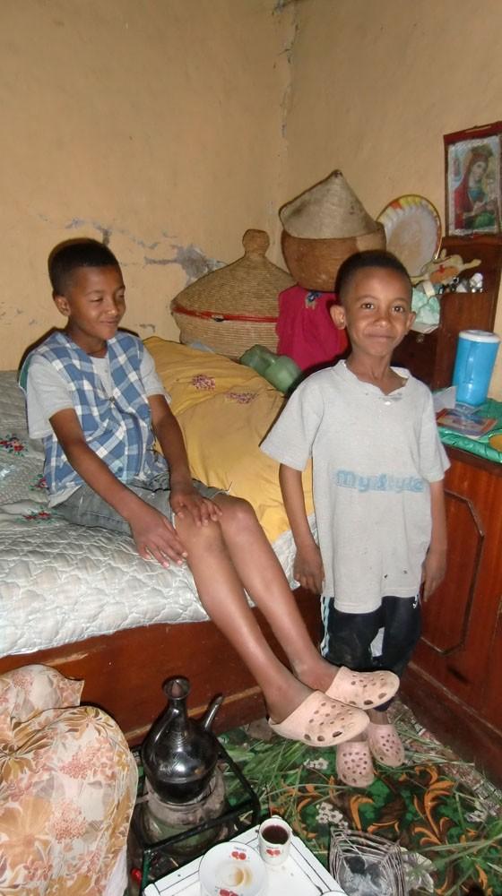 2013 Yohannes Familie, Eyob und Kidus