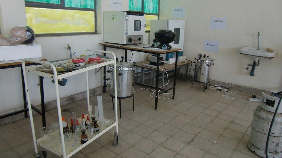 Dez. 2017 - Der Biologieklassenraum der Basoschule